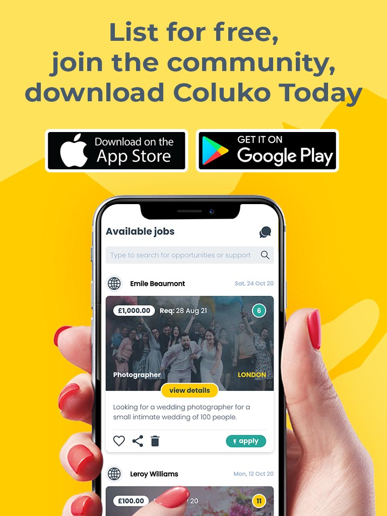 Download the Coluko app today!